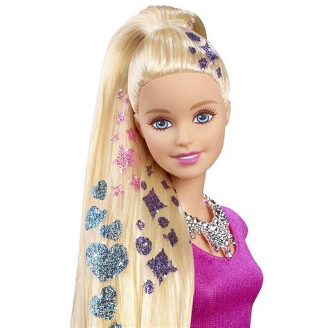 barbie glitter hair doll kinderlove shop