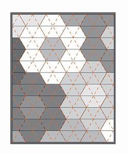 best 25 hexagon quilt pattern ideas on pinterest With quilting hexagon templates free