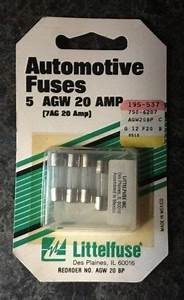 Purchase Agw 20 Amp Automotive Fuses Littelfuse 7ag 20 Amp