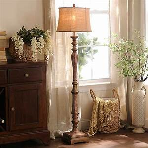 Rustic red floor lamp kirklands for Rustic red floor lamp