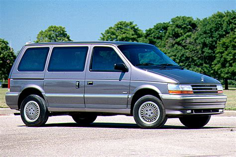 old car manuals online 1995 plymouth grand voyager user handbook 1991 95 plymouth voyager consumer guide auto