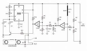 Car Turn Signal Flasher Circuit With Built