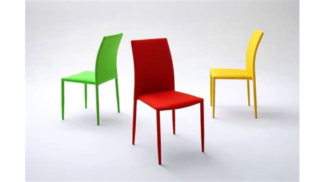 bureau stock chaise design en tissu acrylique de couleur