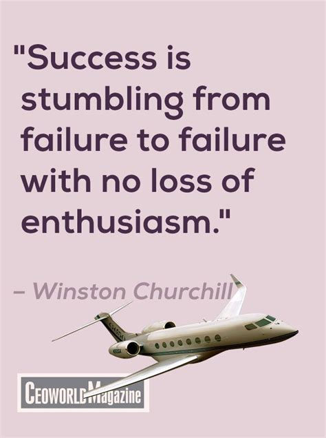 It Is With Great Interest And Enthusiasm That I Am Applying by Quot Success Is Stumbling From Failure To Failure With No Loss