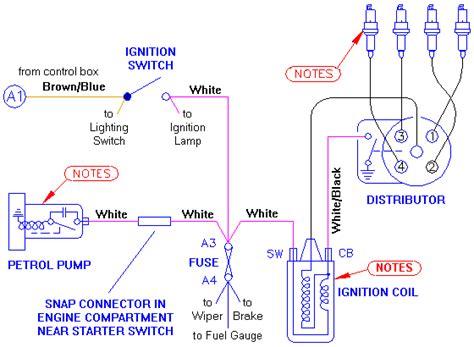 mga ignition circuit diagram