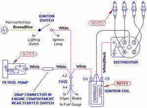 Mga Ignition Circuit Diagram
