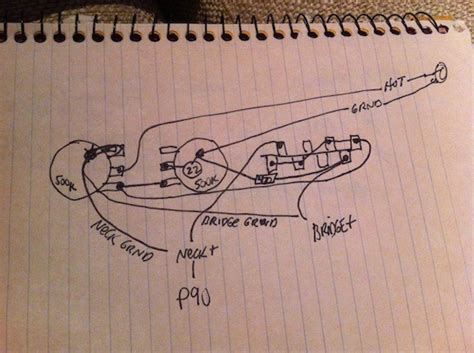 p90 neck 3 way switch plate wiring diagram telecaster guitar