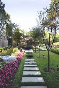Dalle Allée Jardin : all e de jardin pour un am nagement ext rieur original et d co ~ Melissatoandfro.com Idées de Décoration