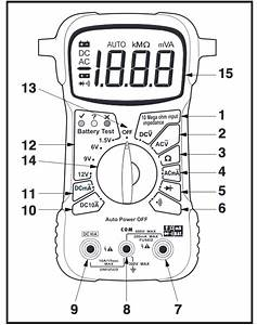 Electronics For Bachelor  Multimeter