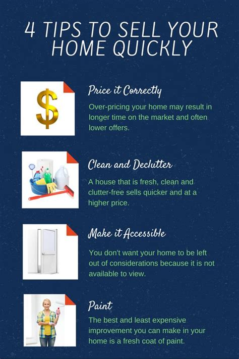 guide to selling your home 4 tips to sell your home quickly