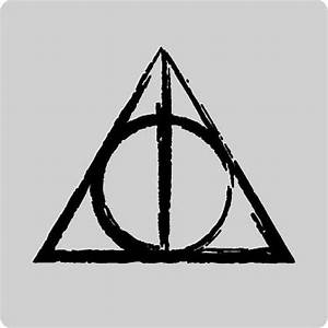 The Deathly Hallows Symbol | tattoos | Pinterest | Umhänge ...