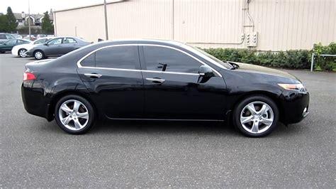 2012 Acura Tsx, Black
