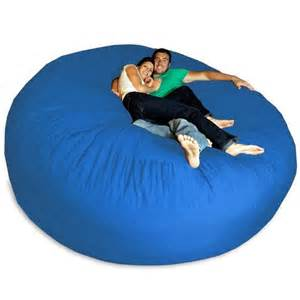 big joe bean bag chair blue