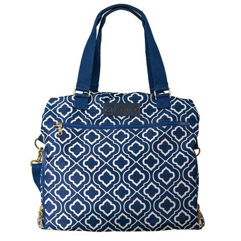 Sarah Wells Lizzy Breast Pump Bag In Navy Kellymomcom