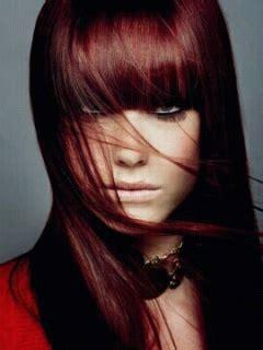 tendance couleur cheveux prune