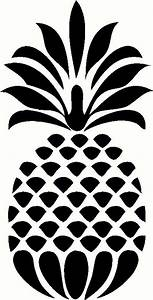 Decorative Pineapple wall sticker, vinyl decal | The Wall ...