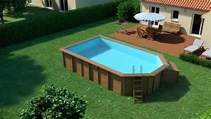 Piscine Hors Sol 6x4 : piscine bois indiana ~ Melissatoandfro.com Idées de Décoration