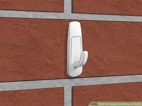 best hook for bricks how to hang something on brick 12 steps with pictures wikihow