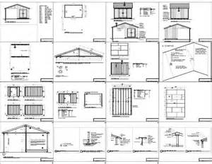 great free 10x14 gable shed plans haddi