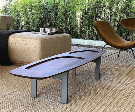 Rectangular ottoman coffee table : Rectangular coffee table by Arthur Casas available at ESPASSO. Contemporary and midcentury ...