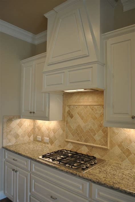 tumbled marble kitchen backsplash home home