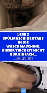 Geschirrspültabs In Waschmaschine : lege 2 sp lmaschinentabs in die waschmaschine dieser ~ A.2002-acura-tl-radio.info Haus und Dekorationen