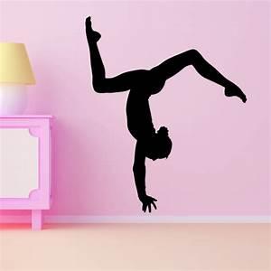 gymnast decal With gymnastics wall decals
