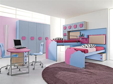 chambres pour enfants cuisine chambre fille et gris clair idees design