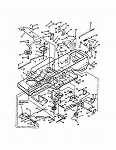 Frame  Clutch  Brake  Steering Diagram  U0026 Parts List For Model