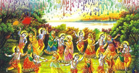radha krishna raas leela  gopis festival