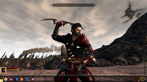 rogue armor male bloody dragon age mods nexus
