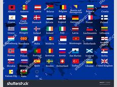 European Country Flags Stock Vector 11743090 Shutterstock