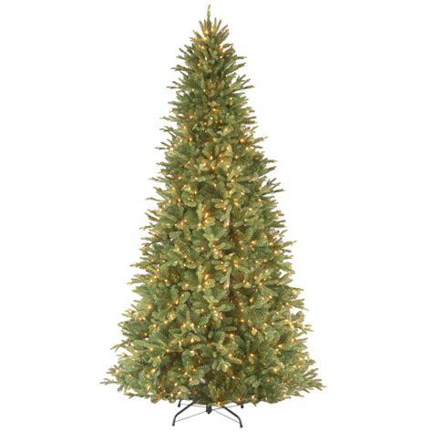 national artificial christmas trees national tree company 12 ft feel real fir slim 3432