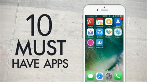 must iphone apps 10 must iphone apps 2016