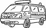 Ambulance Coloring Pages Sketch Drawing Colouring Cartoon Sheets Truck Printable Moveable Hospital Vehicles Paintingvalley Ambulances Sketches Accident Ws Colorings sketch template