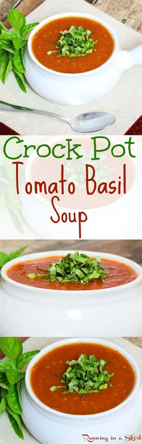 the best crock pot soup recipes easy healthy crock pot tomato basil soup recipe the best simple fresh eating healthy