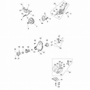 Efco 8245se Stick Edge Trimmer Parts