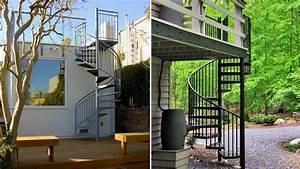 Escalier Extérieur En Bois : un escalier ext rieur en kit comment faire le bon choix ~ Dailycaller-alerts.com Idées de Décoration
