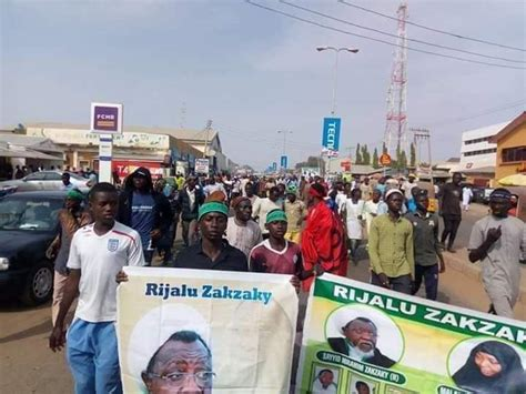 Demand your local mp to raise this issue in parliament. A Huge Free Zakzaky Protest Holds In The Heart Of Zaria - Reflection-Online