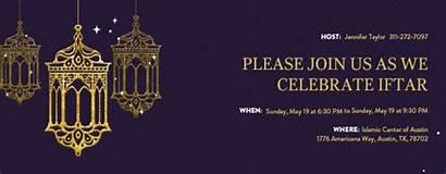 Ramadan Invitation Kareem Iftar Party Invitations Templates