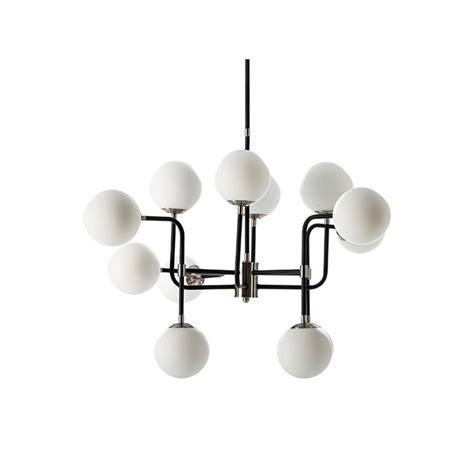 lampara de estilo retro de metal  bolas en color blanco
