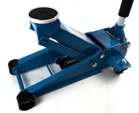 Heavy Duty 3 Ton Dual Rapid Pump Hydraulic Trolley Floor