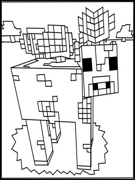 disegni da colorare minecraft scp disegni minecraft da colorare 18