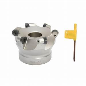 3 U0026 39  U0026 39  X 1 U0026 39  U0026 39  Indexable Round Face Mill Cutter Milling Cutting Use Rpmt1204 Cnc