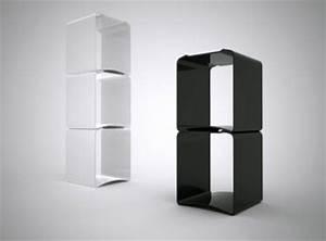 Etagere Salon Design : tabouret design empilable salon stool ~ Teatrodelosmanantiales.com Idées de Décoration