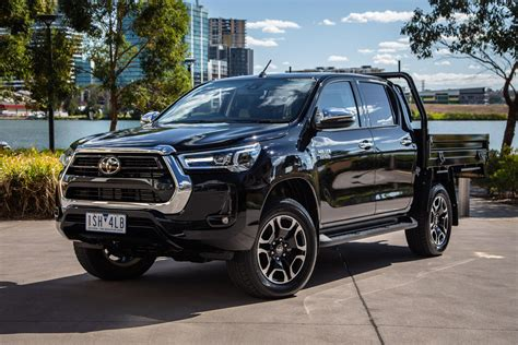 Check out the stunning new light designs and the range of robust wheel designs that further enhance its tough good looks. 2021 Toyota HiLux SR5 review | CarExpert