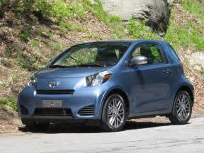 scion iq  honda cr   gas mileage