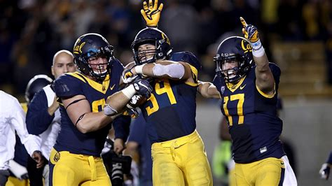 cal football field experiences  notable moment