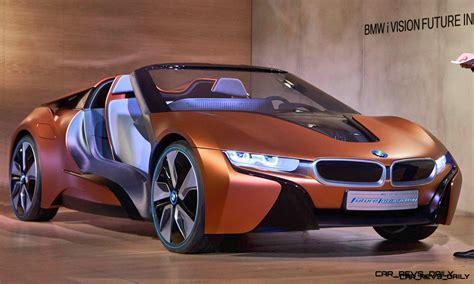 2017 Bmw I8 Spyder Teased Via Bmw I Vision Future