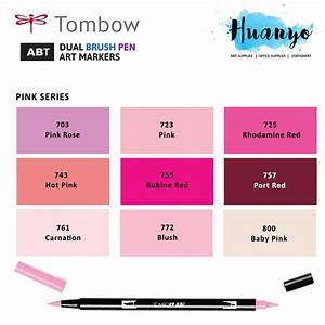 Shades Of Pink : tombow dual brush pen pink shades 9 colours ~ Watch28wear.com Haus und Dekorationen